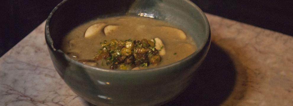 Mushroom Soup - image by Lisa Missenda